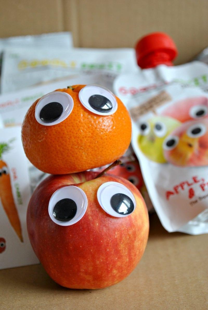 100% organic fruit