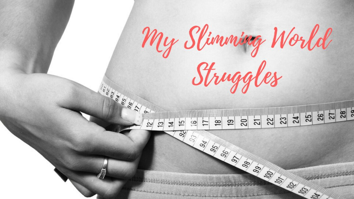 My slimming world struggles Slimming world slimming world