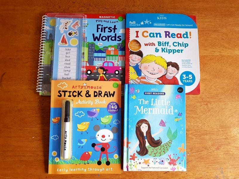M&S books for children