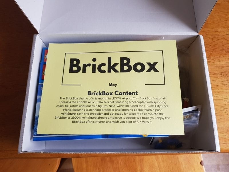 Lego Subscription Box