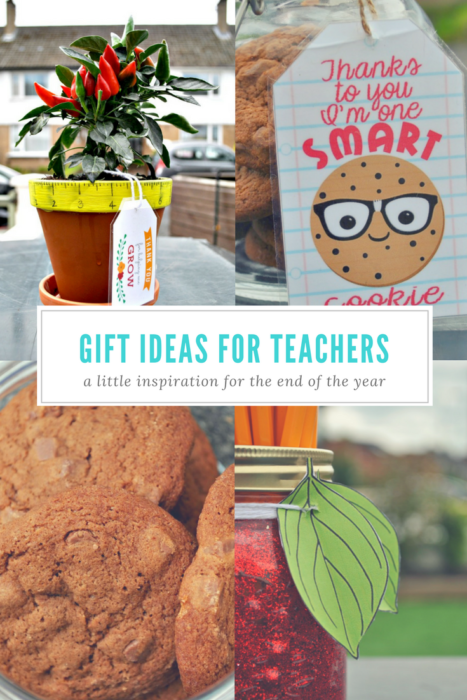 Cheap & cheerful Gift ideas for Teachers - End of School gift ideas. Click through to the post to see more!