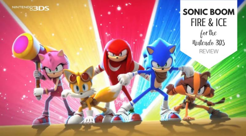 Sonic Boom for the 3DS