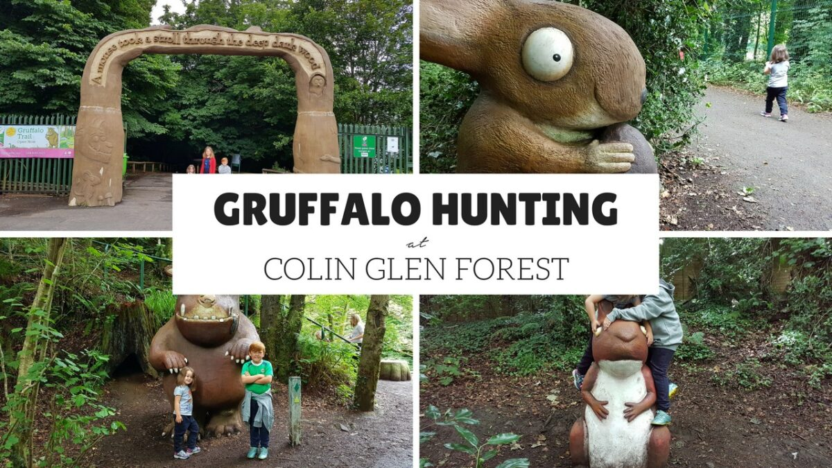 Gruffalo Hunting at Colin Glen Forest