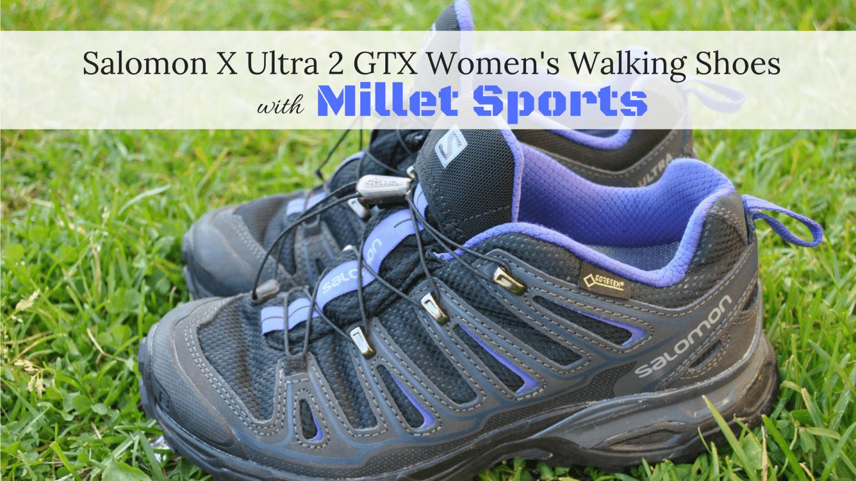 Salomon Walking Shoe Review with Millet Sports