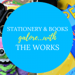 The Works review for Children's Books & Stationery - click through to see my latest review post.