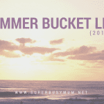 Our Summer Bucket list for 2017! Click through to see all of the fun things we have planned over the next 8 weeks!