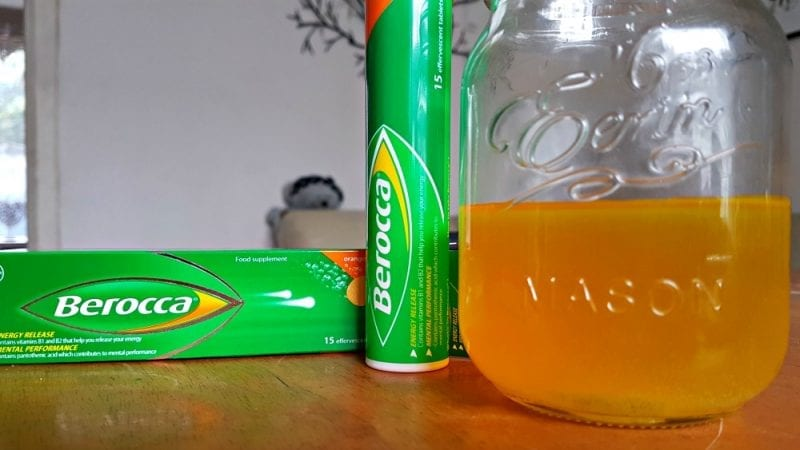 Staying energized with Berocca