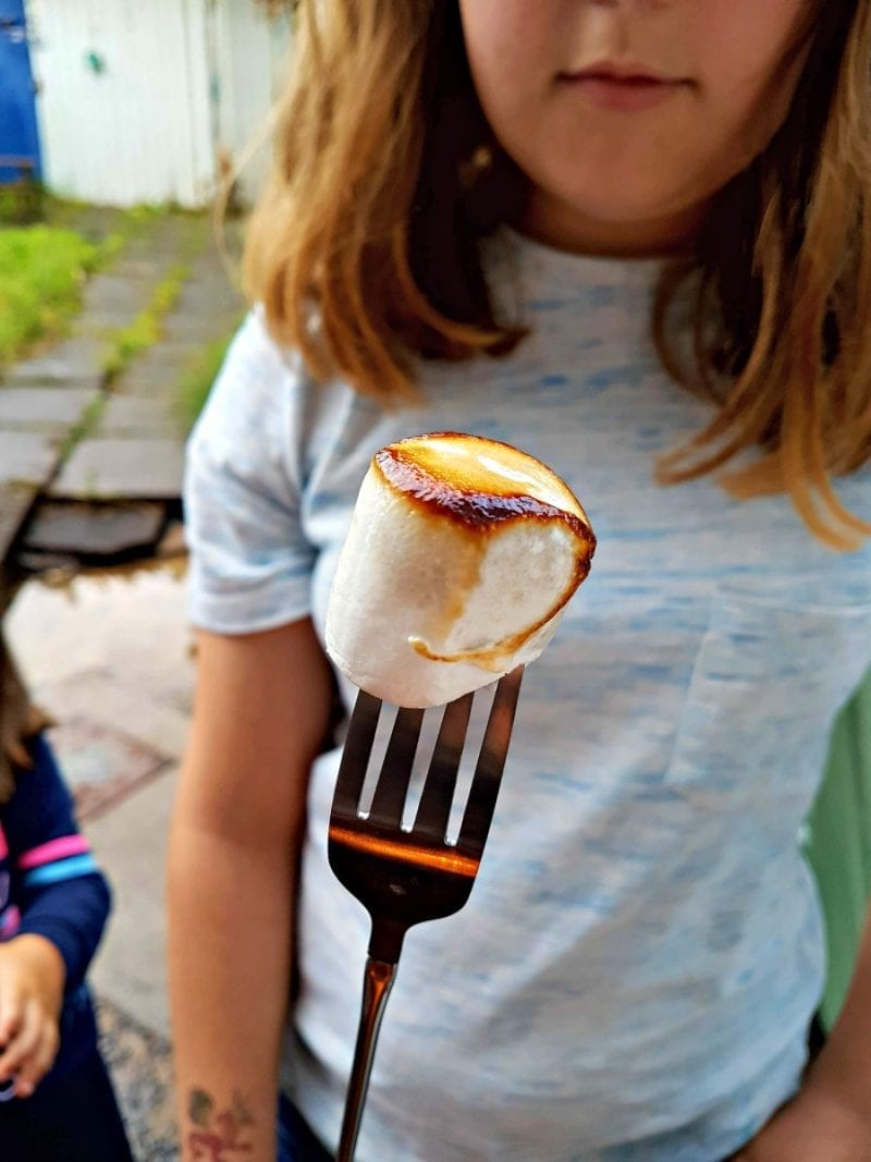 Click through to see more photos of our Campfire cooking fun with Simply Hike
