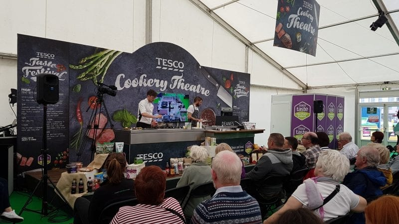 Click through to see more photos from our afternoon at the Tesco Taste Festival!