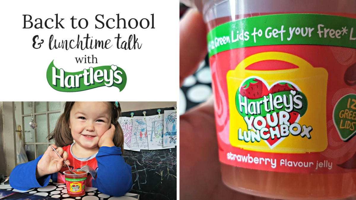 Back to School & Lunchtime talk with Hartley's