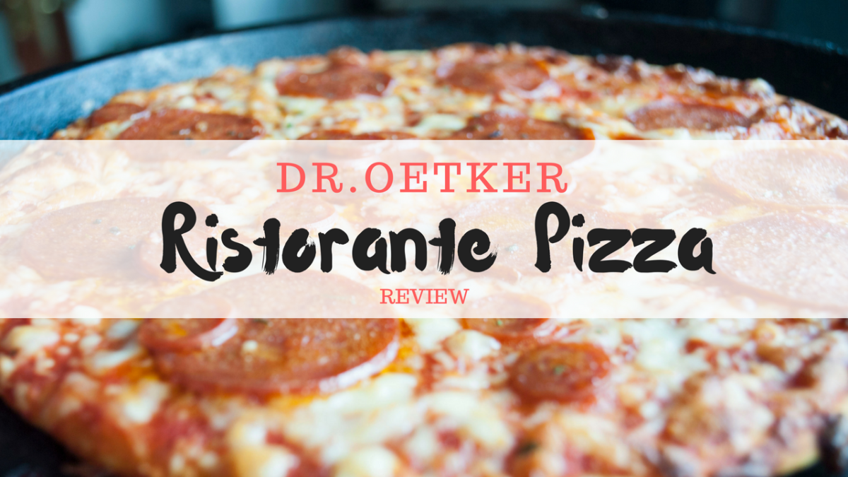dr oetker ristorante pizza cooking instructions