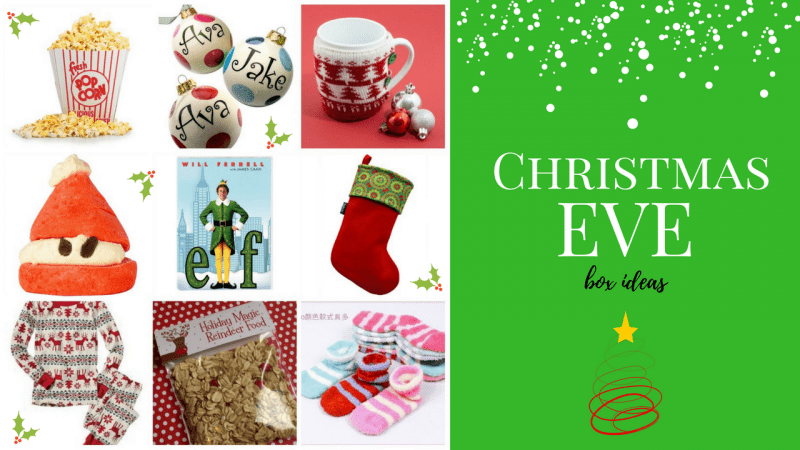 Christmas Eve box ideas graphic