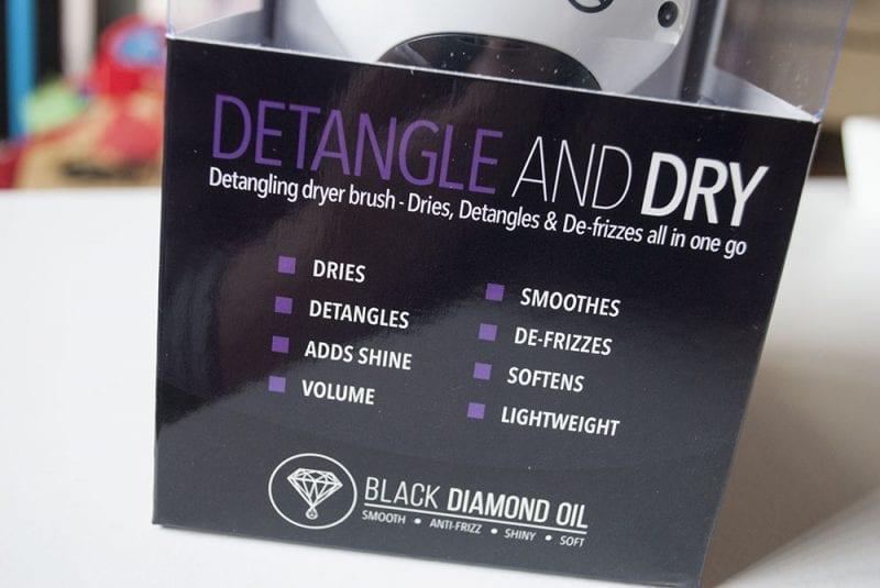 Glamoriser 2 in 1 detangle and dryer