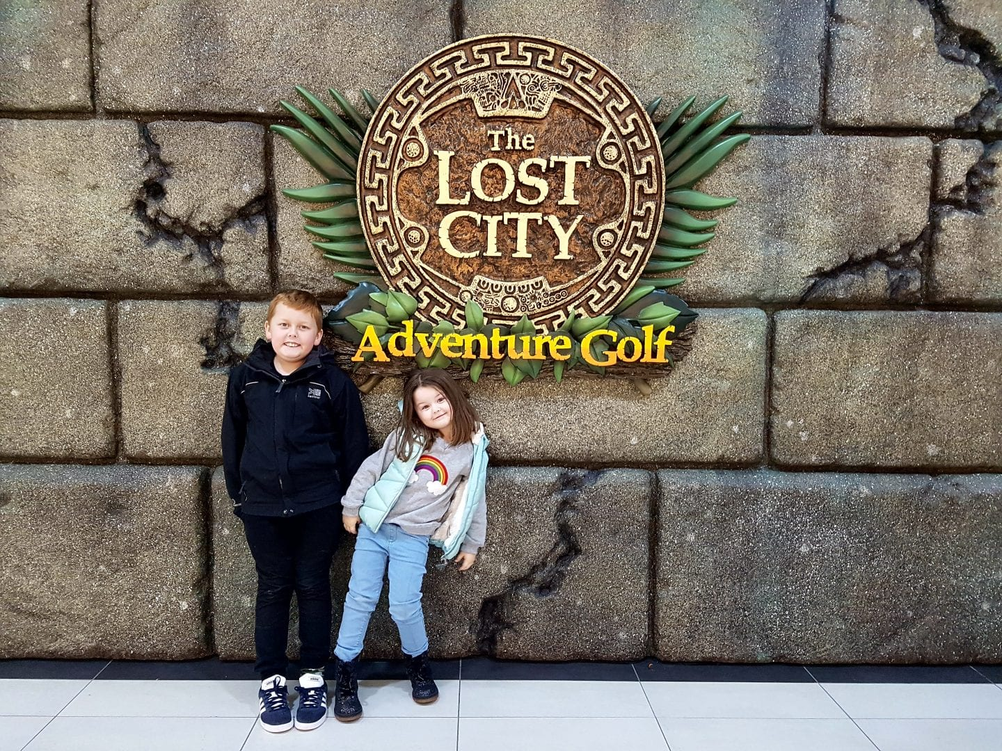 An evening at the Lost City Adventure Golf in Belfast