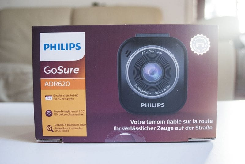 Philips Go Sure Dash Cam Review
