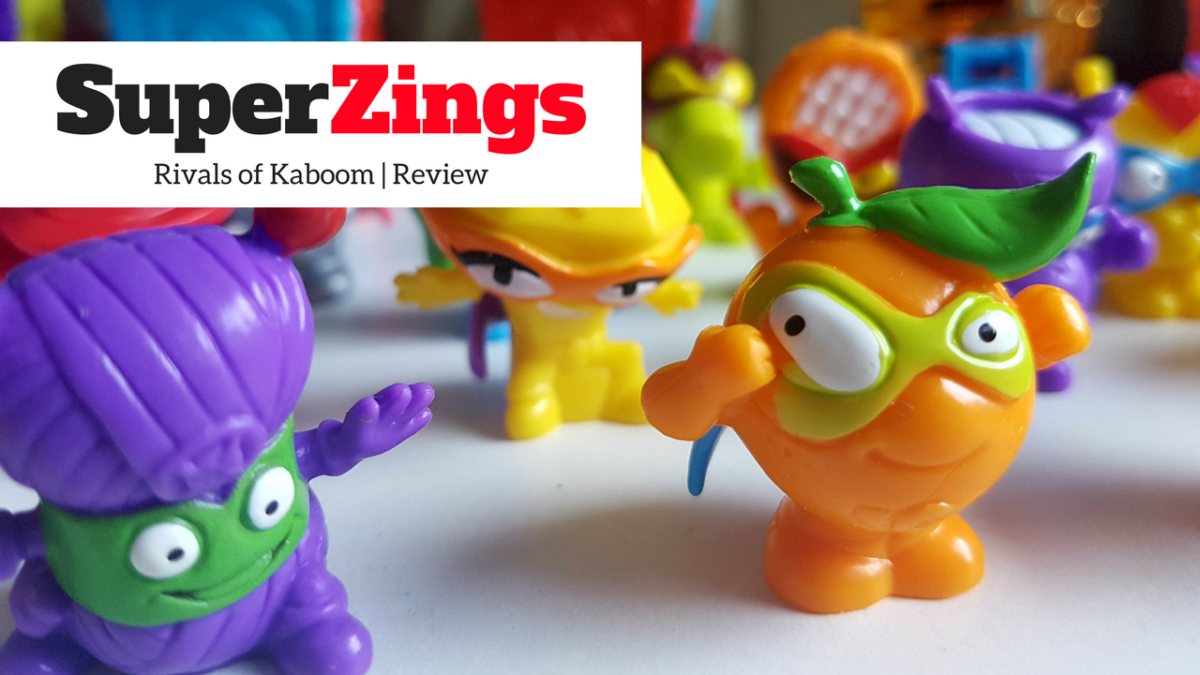 SuperZings – Rivals of Kaboom collectables | Review