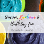 Unicorn Rainbow party inspiration