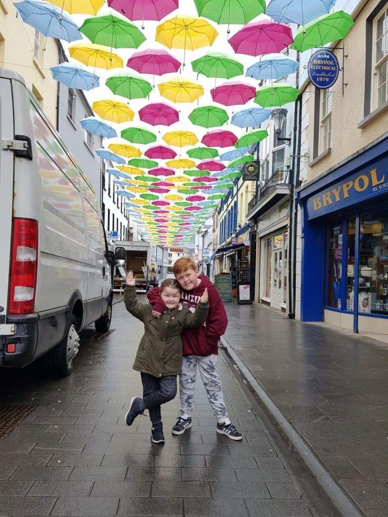 Umbrella Street, Carrickfergus