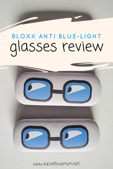 Bloxx anti-blue light glasses review
