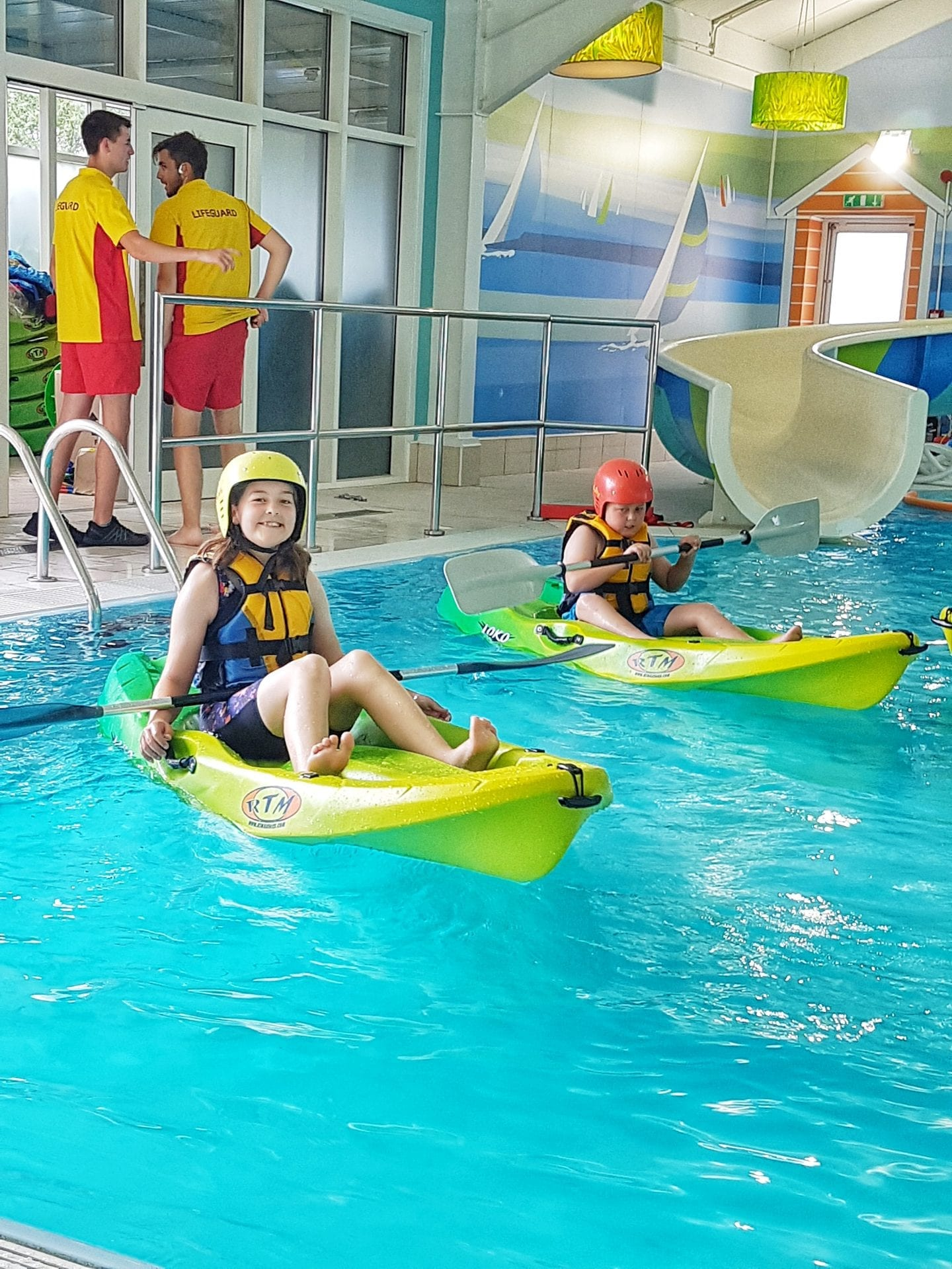 Pool kayaking