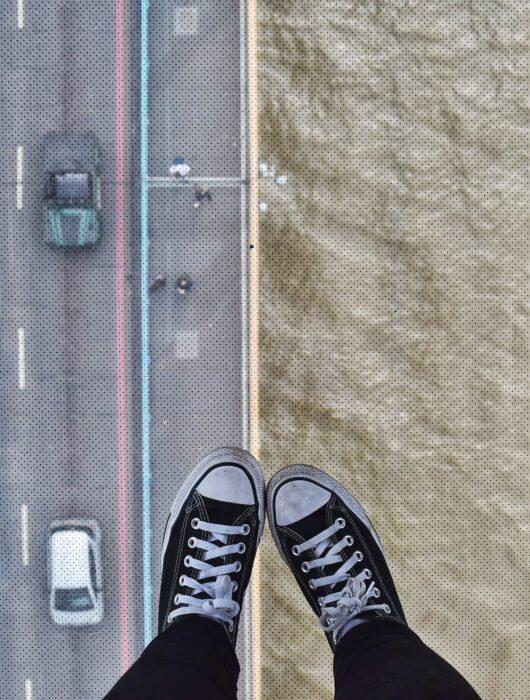 Glass floor, Tower Bridge, London Pass