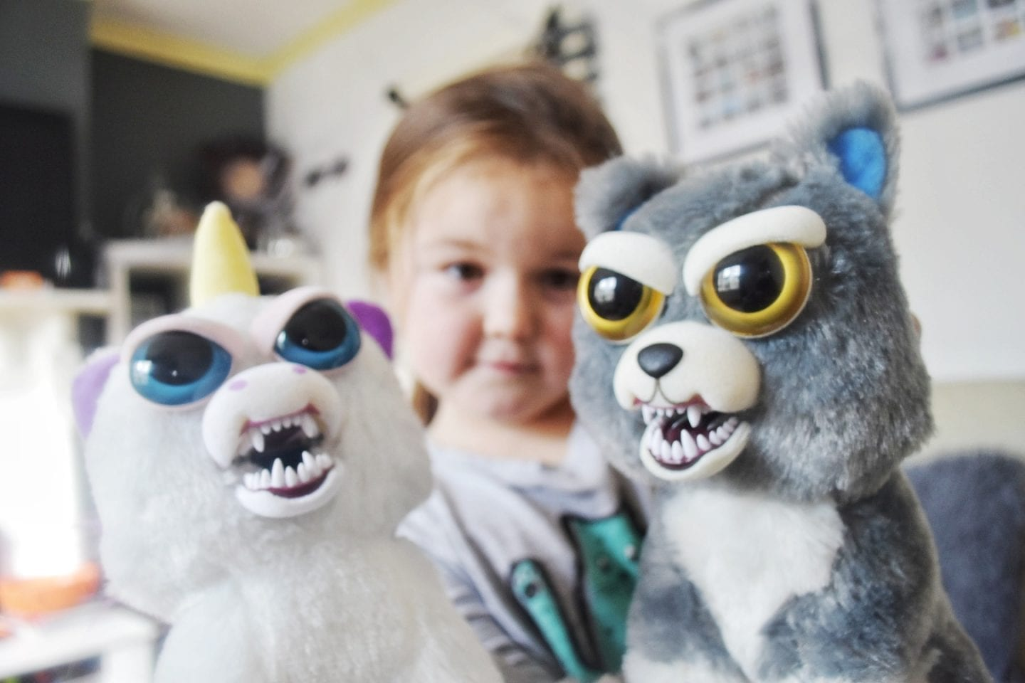Feisty Pets – Cute & scary cuddling toys | review