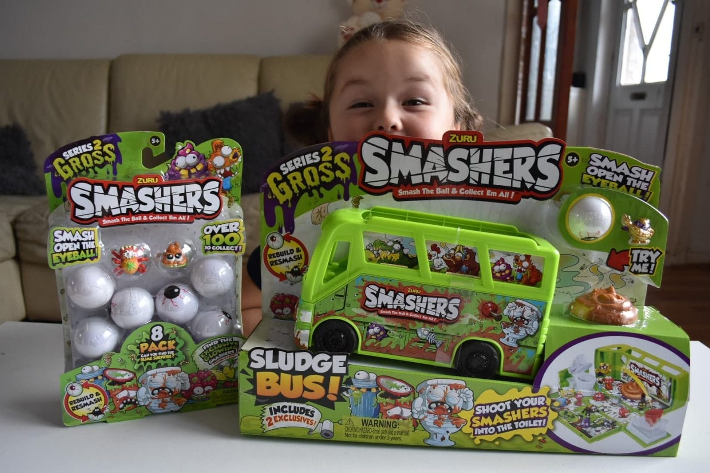 Smashers Series 2 Toy review