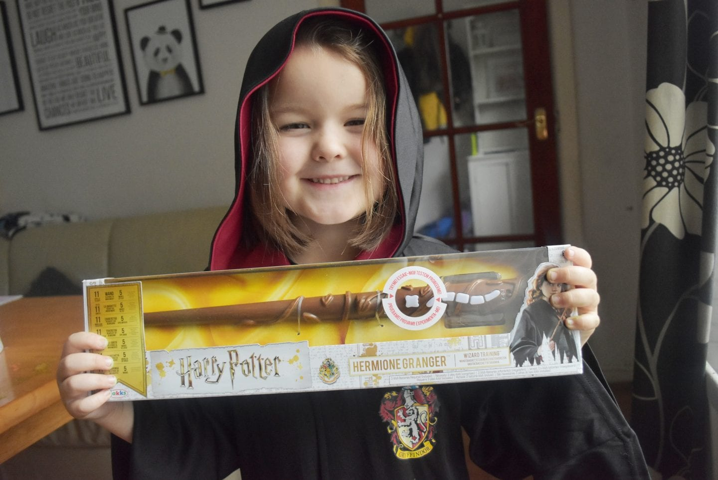 Training for Hogwarts with Harry Potter Wizard Training Wands