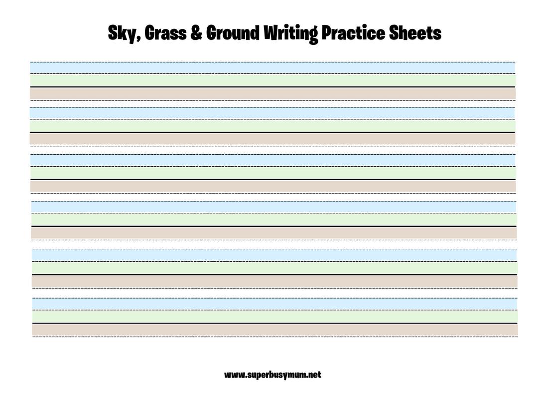 An Amazing Handwriting Worksheet